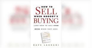Cómo vender cuando nadie compra